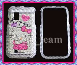 Samsung Fascinate i500 Hello kitty Bling Case Cover HVZ