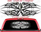 129bw NAUTICAL STAR Rear Window Sticker Decals Graphic