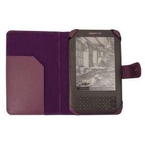 Modern Tech Purple Faux Leather Flip Case Wallet for