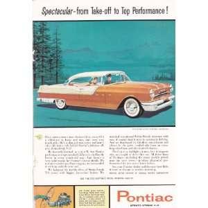 Ad Pontiac Star Chief Custom Catalina Original Antique Car Print Ad