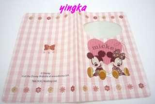 Disney Mickey & Minnie Passport Holder Cover Heart