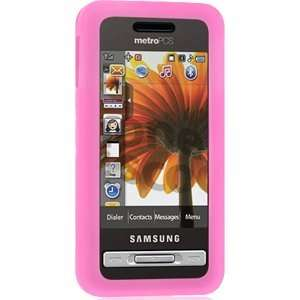 Skin Case for Samsung Finesse R810 (Hot Pink) Cell Phones