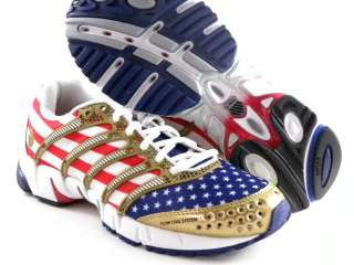 Swiss K Ona Olympic USA Flag Red/White/Blue/Gold Pride Running Women