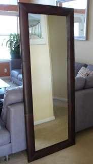 Large Leather Floor Mirror   Body mirror Variuos colors