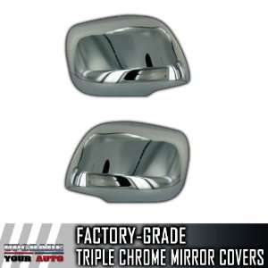 08 11 Toyota Land Cruiser Full Chrome Mirror Covers Automotive
