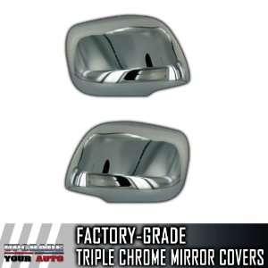 08 11 Toyota Land Cruiser Full Chrome Mirror Covers Automotive