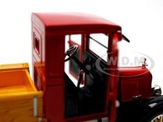 1923 FORD MODEL TT TRUCK TEXACO RED 132 DIECAST