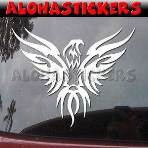 TRIBAL PHOENIX HAWK Vinyl Decal Eagle Truck Sticker T67