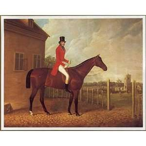 Lord Bolton On A Bay Hunter Poster Print