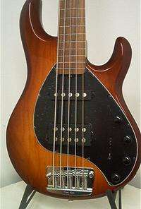 NEW Ernie Ball MusicMan Stingray 5 String Fretless Bass
