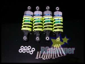 GPM ALUMINUM FRONT+REAR DAMPER SHOCK HPI NITRO RS4 3 2