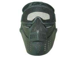 GREEN Tactical Full Face Mask Metal Mesh Eye Shield