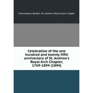 Celebration of the one hundred and twenty fifth anniversary of St