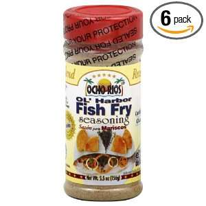 Ocho Rios Seasoning HarbFish Fry, 5.5 Ounce (Pack of 6):