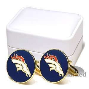 Denver Broncos NFL Executive Logo Cufflinks Sports