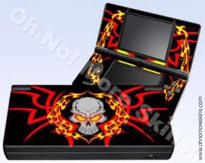 Nintendo DSi Skin Vinyl Decal   Skull