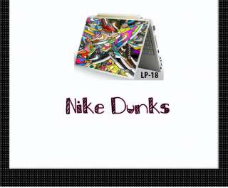 Nike Dunks Graphic Art Design Laptop Skin Decal Sticker