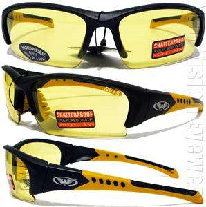 Hydrophobic Night Driving Lens Safety Glasses Sun Motorcycle Z87.1