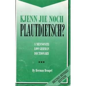 a mennonite low german dictionary