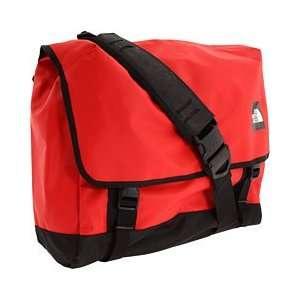 North Face Base Camp Messenger Bag   Large TNF Red/Black   Messenger