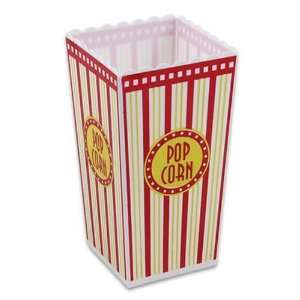 Plastic Popcorn Container 8.5 Case Pack 36 Home