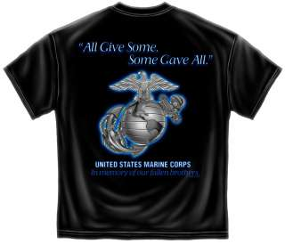 All T Shirt Marine Corps Army military logo grieving 9 11 GA102