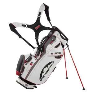 New Sun Mountain 2012 Hybrid Golf Stand Bag (White/Red