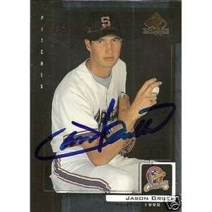 Jason Grilli Signed San Francisco Giants 99 UD SP Card