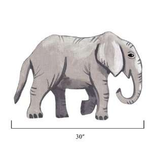 Sherri Blum Jungle Animals Medium Elephant Wall Stickers