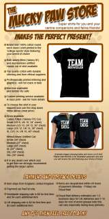 TEAM BOXWEILER T SHIRT cute puppy dog owners gift new
