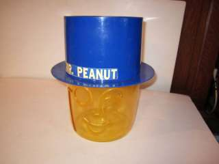 Planters Mr Peanut Candy/Nut Store Display Dispencer