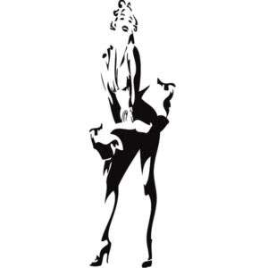 Wall Stickers Vinyl Art Decal Marilyn Monroe 67x22 in.