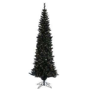 90 Artificial Pencil Christmas Tree in Black