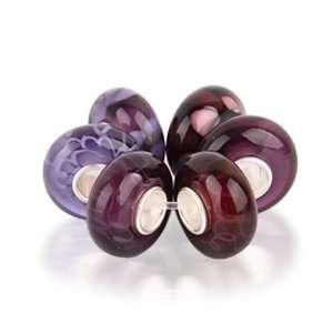 Bling Jewelry Assorted Purple Amethyst Burgundy Murano