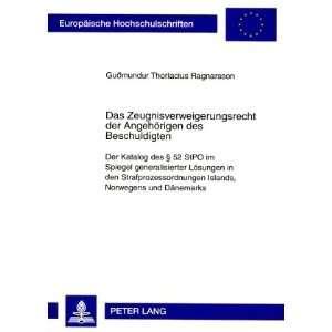 Edition) (9783631573143) Guðmundur Thorlacius Ragnarsson Books