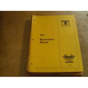 Thermo King SB 1 maintenance Manual thermo king Books