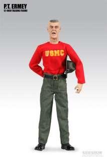 Lee Ermey P.T. Gear Sideshow 12 figure USMC *EXCL*