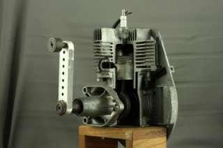 Vintage Mechanical Engineering School Training Model Single Cylinder