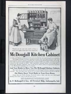 1906 G. P. McDOUGALL & SON Kitchen Cabinet magazine Hone Decor China