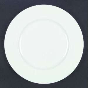 Mikasa Satin White Dinner Plate, Fine China Dinnerware
