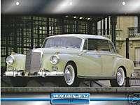 1957 MERCEDES BENZ 300 German Car 8.5x11 Print Sheet