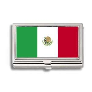 Mexican Estados Unido Mexico Flag Business Card Holder