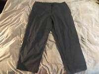 Venezia Clothing Co Dark Gray Stretch Slacks Pants 22P
