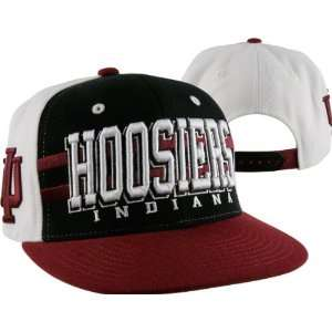 Indiana Hoosiers Supersonic Adjustable Snapback Hat