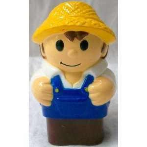 Mega Bloks Replacement Block Boy in Yellow Hat Doll Toy Toys & Games