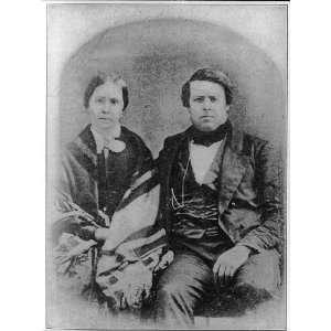 Larimer,1809 1875,founder of Denver,Colorado,CO,Rachel McMasters,wife