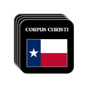 US State Flag   CORPUS CHRISTI, Texas (TX) Set of 4 Mini