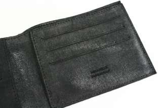 Maison Martin Margiela NWT Black Leather WALLET New