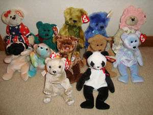 Ty Beanie Babies Retired 1993 2002 Issy/Champion USA
