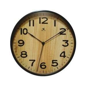 INFINITY/ITC Wood Wall Clocks   Brown